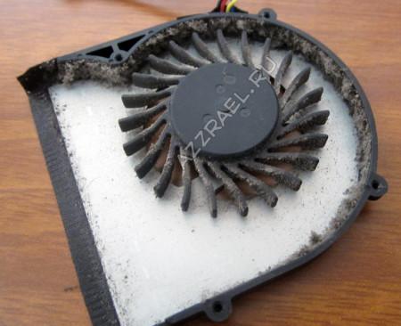 Как поменять кулер на ноутбуке Lenovo S205 c фотографиями