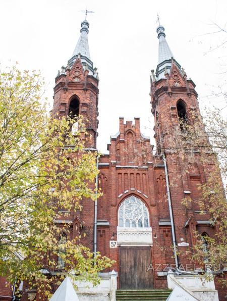 Костел в Рыбинске