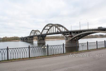 Мост в Рыбинске