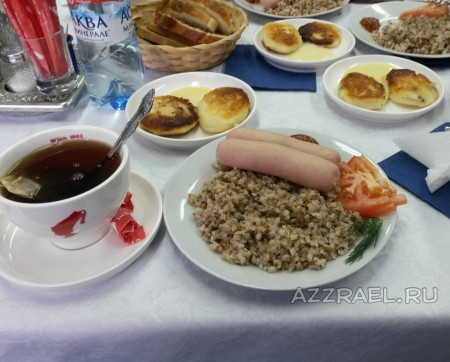Завтрак в Рыбинске