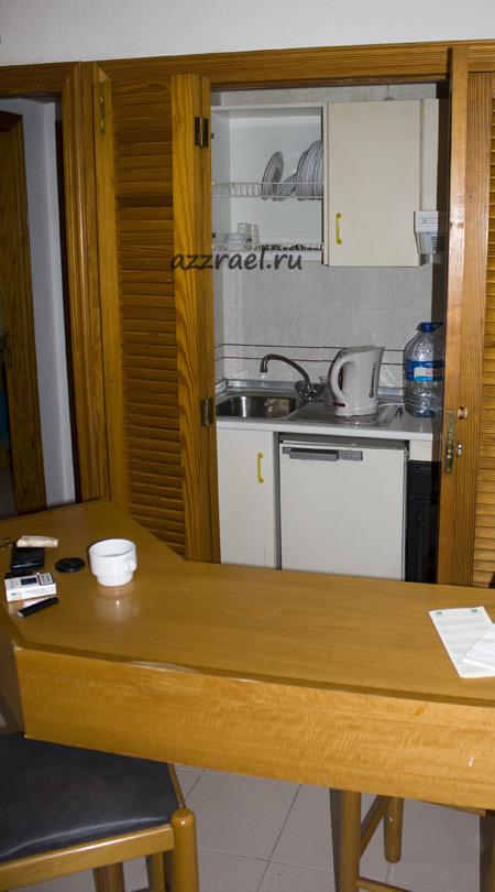 Кухня в номере Isla Bonita