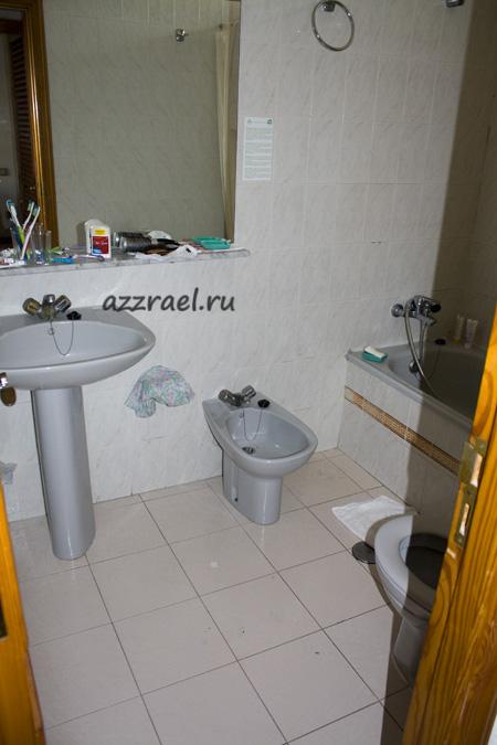 Ванная в номере Isla Bonita