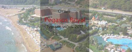 Отзыв о Pegasos Royal июнь 2017