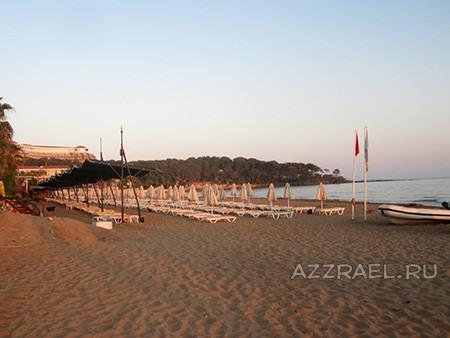 Пляж у отеля Pegasos Club
