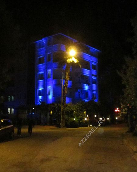 Sempati Apart Hotel ночью