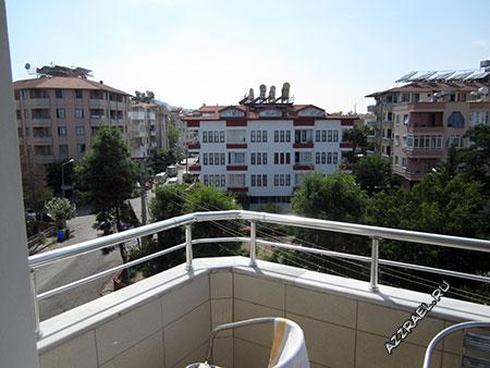 Sempati Apart Hotel вид с балкона