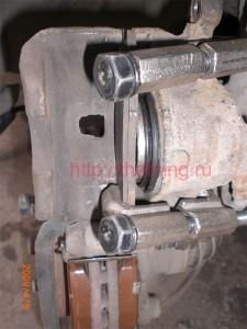 Стягивание тормозного цилиндра